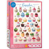 Cupcakes 1000 Piece Puzzle Jigsaw Puzzle