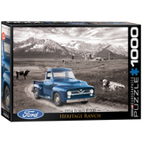 1954 Ford F-100 Heritage Ranch 1000 Piece Puzzle Jigsaw Puzzle