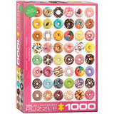 Donuts 1000 Piece Puzzle Jigsaw Puzzle
