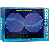 Map of the Sky 1000 Piece Puzzle Jigsaw Puzzle