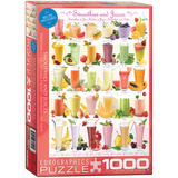 Smoothies and Juices 1000 Piece Puzzle Jigsaw Puzzle