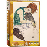The Artist's Wife by Egon Schiele 1000 Piece Puzzle Jigsaw Puzzle