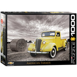 1937 Chevy Pick-up American Farmer 1000 Piece Puzzle Jigsaw Puzzle