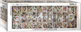 The Sistine Chapel Ceiling by Michelangelo 1000 Piece Puzzle Jigsaw Puzzle