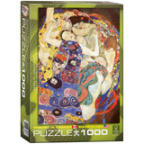 The Virgin by Gustav Klimt 1000 Piece Puzzle Jigsaw Puzzle