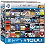 VW Cool Faces 1000 Piece Puzzle Jigsaw Puzzle