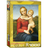 The Small Cowper Madonna by Raphael 1000 Piece Puzzle Jigsaw Puzzle