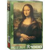 Mona Lisa by Leonardo da Vinci 1000 Piece Puzzle Jigsaw Puzzle
