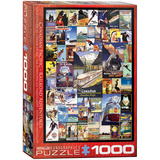Railroad Adventures 1000 Piece Puzzle Jigsaw Puzzle
