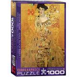 Adele Bloch-Bauer I by Gustav Klimt 1000 Piece Puzzle Jigsaw Puzzle