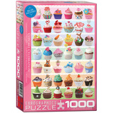 Cupcake Celebration 1000 Piece Puzzle Jigsaw Puzzle