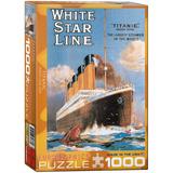 Titanic White Star Line 1000 Piece Puzzle Jigsaw Puzzle