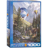 Soaring with Eagles by Douglas R. Laird 1000 Piece Puzzle Jigsaw Puzzle