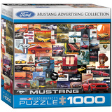 Ford Mustang Advertising Collection 1000 Piece Puzzle Jigsaw Puzzle