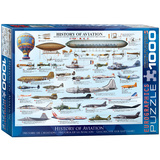 History of Aviation 1000 Piece Puzzle Jigsaw Puzzle