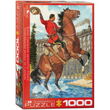 RCMP Train Salute 1000 Piece Puzzle Jigsaw Puzzle