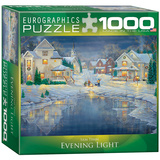 Evening Light by Sam Timm 1000 Piece Puzzle Jigsaw Puzzle