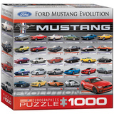 Ford Mustang Evolution 1000 Piece Puzzle Jigsaw Puzzle