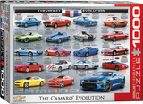 Chevrolet The Camaro Evolution 1000 Piece Puzzle Jigsaw Puzzle