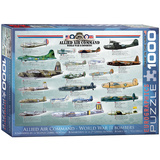 Allied Air Command World War II Bombers 1000 Piece Puzzle Jigsaw Puzzle