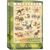 Dinosaurs 1000 Piece Puzzle Jigsaw Puzzle