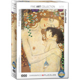 Mother and Child by Gustav Klimt 1000 Piece Puzzle Jigsaw Puzzle