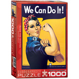 Rosie the Riveter by Howard Miller 1000 Piece Puzzle Jigsaw Puzzle