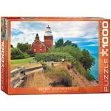 Big Bay Lighthouse Michigan 1000 Piece Puzzle Jigsaw Puzzle