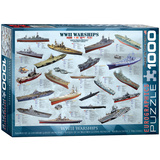 WW II Warships 1000 Piece Puzzle Jigsaw Puzzle
