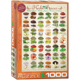 Herbs and Spices 1000 Piece Puzzle Jigsaw Puzzle