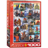 RCMP Collage 1000 Piece Puzzle Jigsaw Puzzle