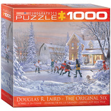 The Original Six by Douglas R. Laird 1000 Piece Puzzle Jigsaw Puzzle