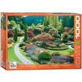 The Butchart Gardens Sunken Garden 1000 Piece Puzzle Jigsaw Puzzle