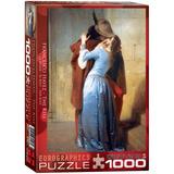 The Kiss by Francesco Hayez 1000 Piece Puzzle Jigsaw Puzzle