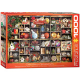 Christmas Ornaments 1000 Piece Puzzle Jigsaw Puzzle