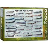 Modern Warplanes 1000 Piece Puzzle Jigsaw Puzzle