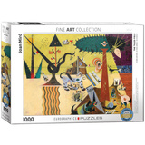 The Tilled Field by Joan Miró 1000 Piece Puzzle Jigsaw Puzzle