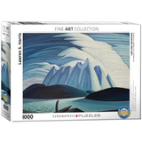 Lake and Mountains by Lawren S. Harris 1000 Piece Puzzle Jigsaw Puzzle