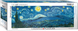 Starry Night Panorama by Vincent van Gogh 1000 Piece Puzzle Jigsaw Puzzle