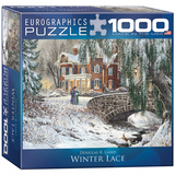 Winter Lace by Douglas R. Laird 1000 Piece Puzzle Jigsaw Puzzle