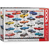 American Muscle Car Evolution 1000 Piece Puzzle Jigsaw Puzzle