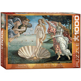 Birth of Venus by Sandro Botticelli 1000 Piece Puzzle Jigsaw Puzzle