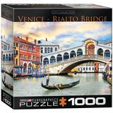 Venice Rialto Bridge 1000 Piece Puzzle Jigsaw Puzzle