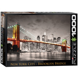 New York City Brooklyn Bridge 1000 Piece Puzzle Jigsaw Puzzle