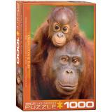 Orangutan & Ba 1000 Piece Puzzle Jigsaw Puzzle