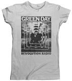 Juniors: Green Day- Revolution Radio Echo Tshirt