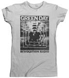 Women's: Green Day- Revolution Radio Echo T-shirt