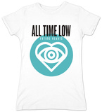 Juniors: All Time Low- Future Hearts Logo Shirt