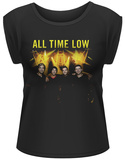 Women's: All Time Low- Band Mates T-shirts
