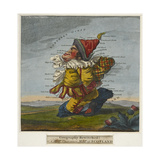 Geography Bewitched!, A Droll Caricature Map of Scotland, ca. 1795 Giclee Print by Robert Dighton